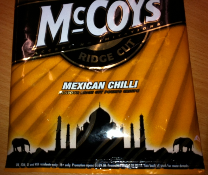 Mexican Chilli? But the packet comes with pictures of a Taj Mahal and elephants